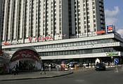 Здание  комплекса «Альфа», вид со стороны станции метро