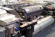 Дизельный двигатель современного локомотива