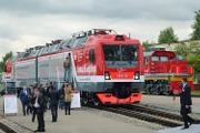 Один из центральных экспонатов – двухсистемный локомотив «Князь Владимир»