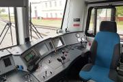 В кабине двухсистемного локомотива