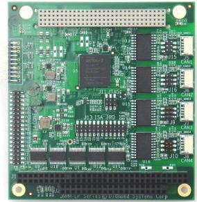 Модуль ввода-вывода CAN JANUS-MM-4LP
