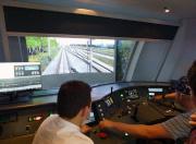 Современный тренажер поезда