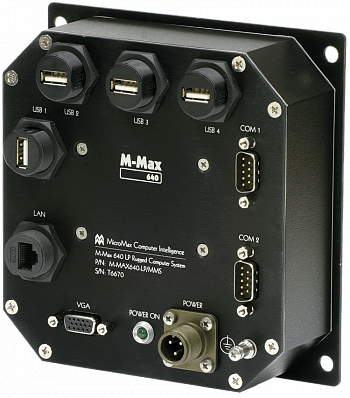 Защищенный промышленный компьютер M-Max PD2 LP